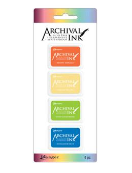 Archival Mini Ink Pads Set #3