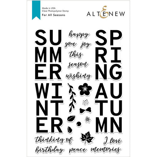 Altenew For All Seasons Stamp Set