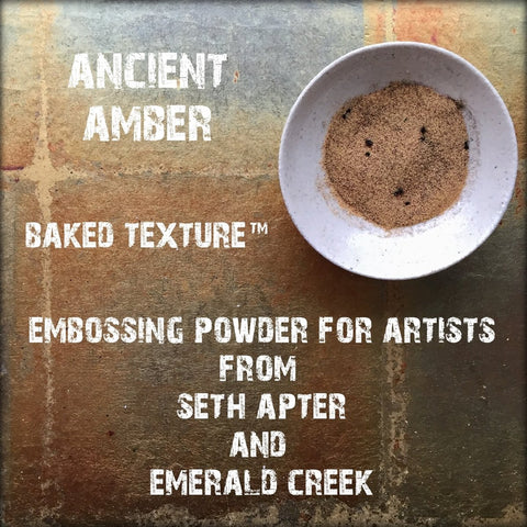 Seth Apter Baked Texture Ancient Amber