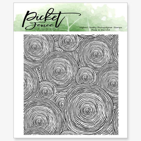 Picket Fence Studios Clear Stamps - Round and Round We Go
