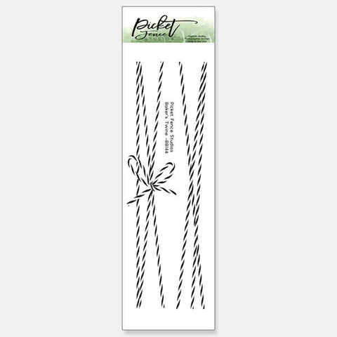 Picket Fence Studios Clear Stamps - Baker's Twine