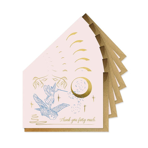 Good Juju Ink Cards & Envelopes - Thank You Fairy Much Boxed Set of 6