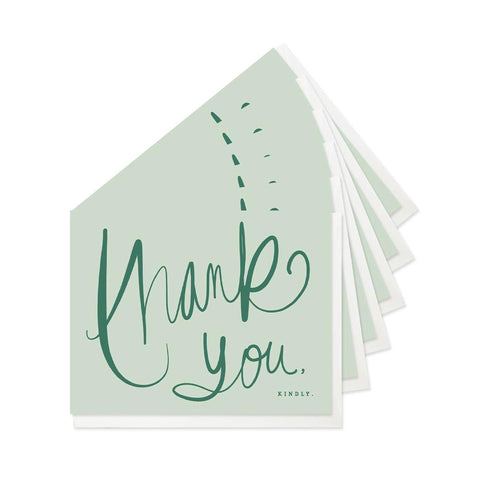 Good Juju Ink Cards & Envelopes - Thank You, Kindly Boxed Set of 6