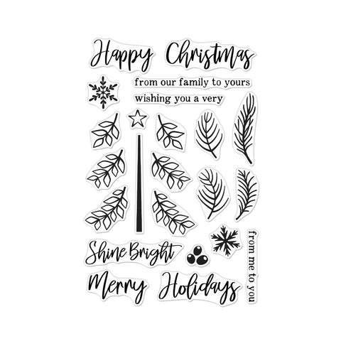 Build A Tree Cling Stamps