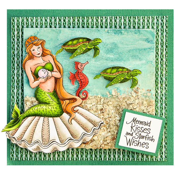 Stampendous Pearl Mermaid Die Set