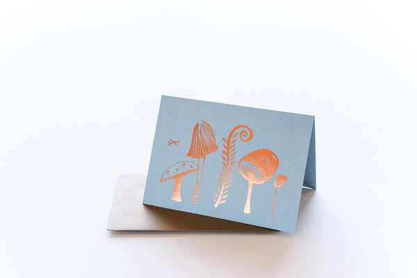 Good Juju Ink Cards & Envelopes - Enchanted Mushroom Garden Boxed Set of 6