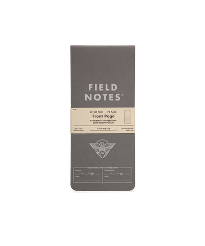 Field Notes - Front Page Reporter's Notebook 2 Pk