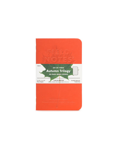 Field Notes - Autumn Triology Set of 3 Memo Books