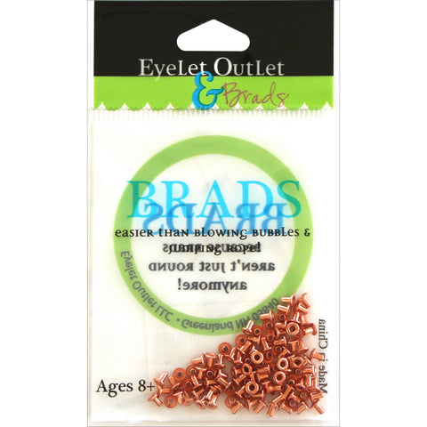 Eyelet Outlet Mini Copper Brads