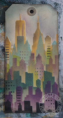 NYC Skyline Stencil & Masks - The Ink Pad - 3
