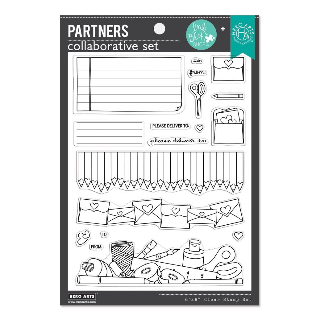 Hero Arts Clear Stamps - Ink Blot Shop - Please Deliver