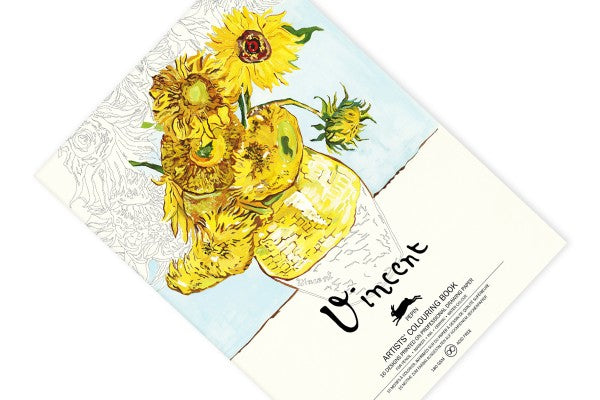 Pepin Artists' Colouring Book: Vincent van Gogh