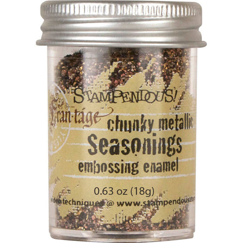 Stampendous Frantage Embossing Enamel: Seasonings