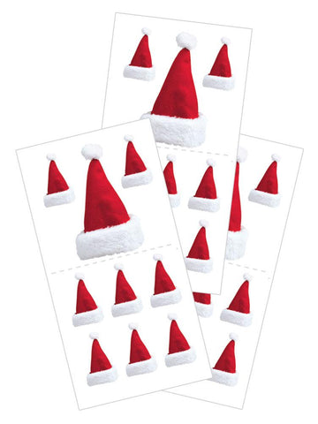 Paper House Stickers - Santa Hats