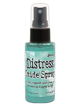 Tim Holtz April 2021 Salvaged Patina Distress Oxide Spray