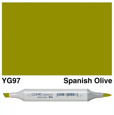 Copic Sketch Spanish Olive