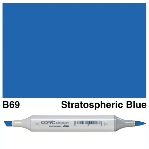Copic Sketch Stratospheric Blue