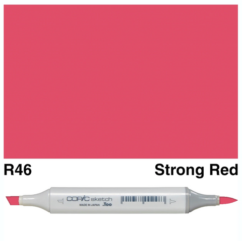 Copic Sketch Strong Red