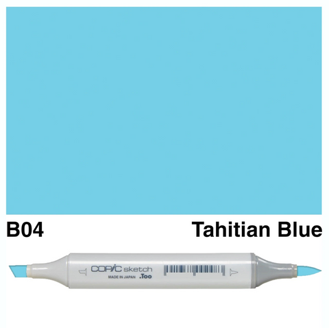 Copic Sketch Tahitian Blue