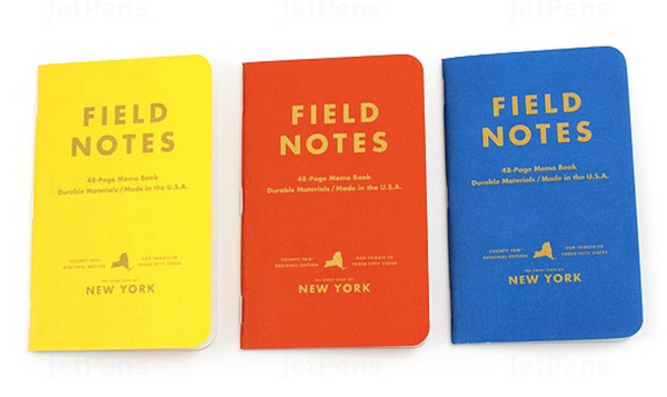 Field Notes - County Fair 3 Pk