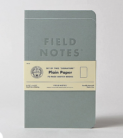 Field Notes - Signature Sketch Book 2 Pk