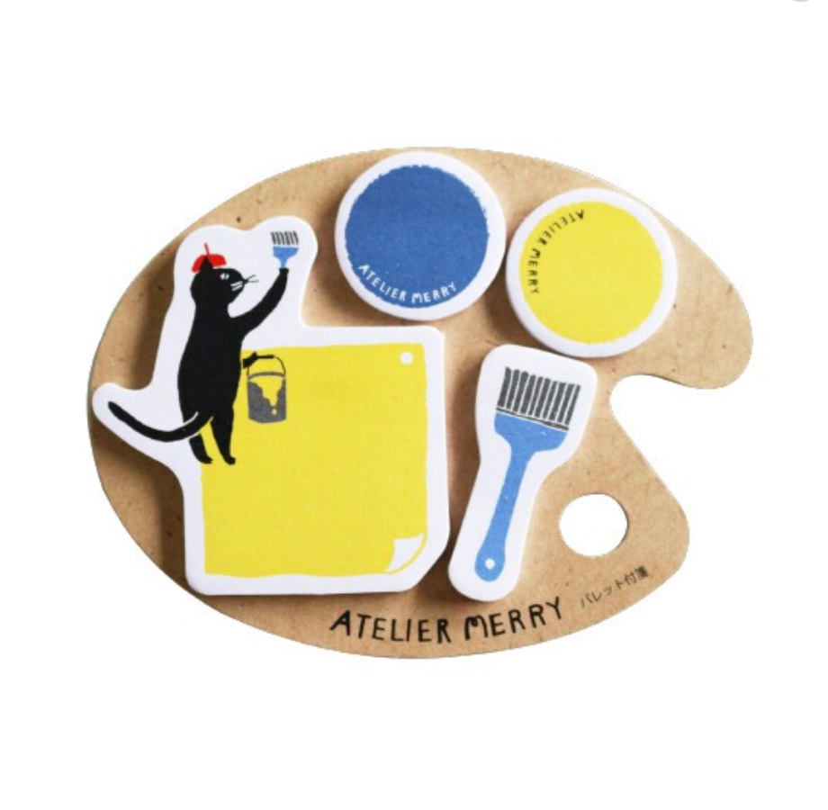 Atelier Merry Cat Sticky Notes