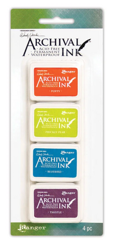 Archival Mini Wendy Vecchi Ink Set of Four #6