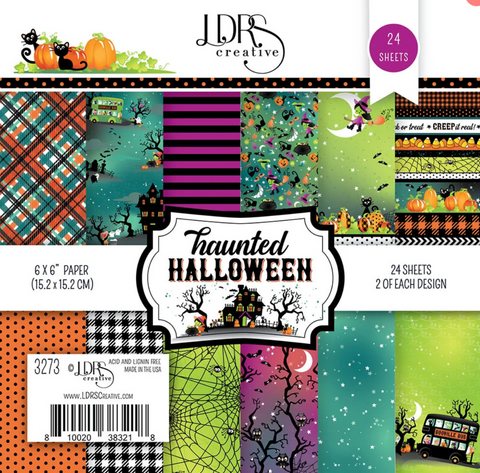 LDRS Creative 6x6 Paper Pack - Haunted Halloween