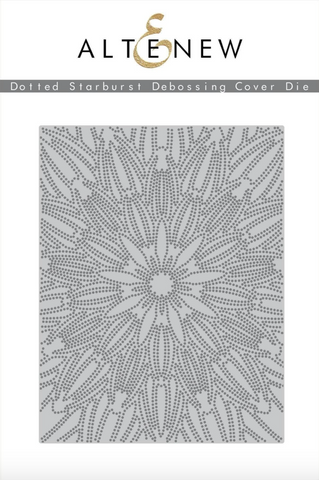 Altenew Debossing Dies - Dotted Starbust Cover Die