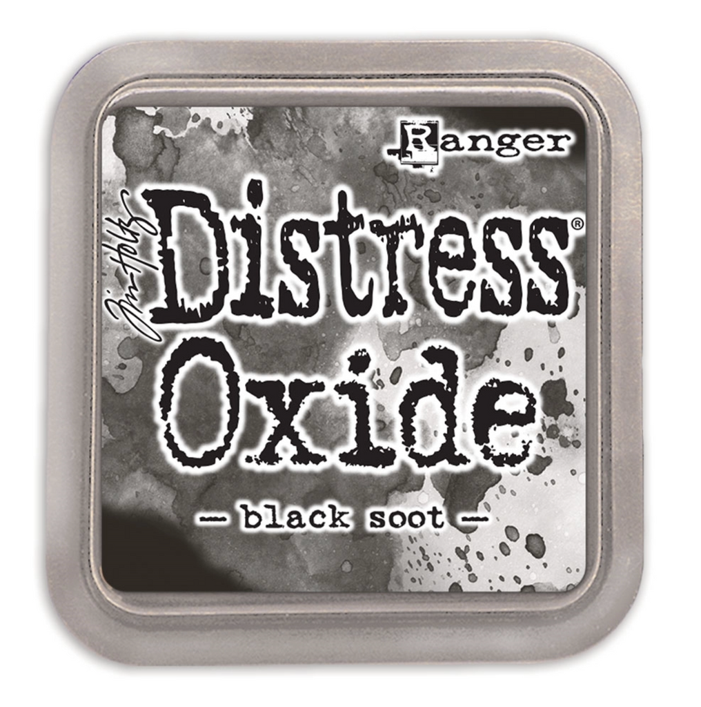 Distress Oxide Ink Pad Black Soot