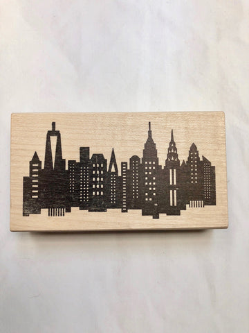 Michelle Ward Skyline Stamp