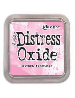 Distress Oxide Ink Pad Kitsch Flamingo