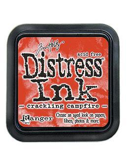 Distress Ink Pad Crackling Campfire