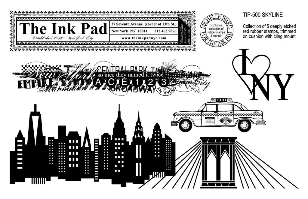Skyline UM Set - The Ink Pad