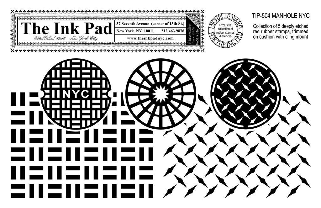 Manhole NYC UM Set - The Ink Pad
