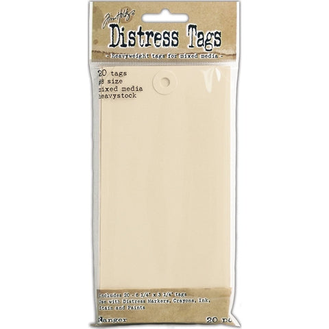 Tim Holtz Distress Tags Pkg of 20