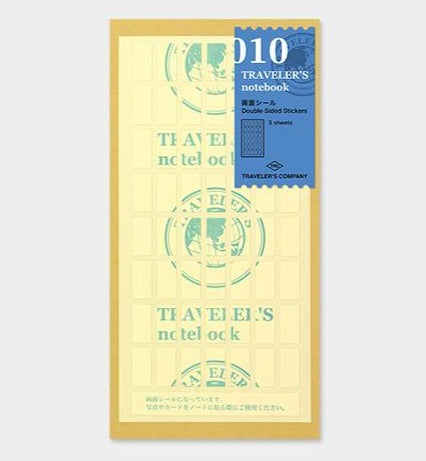 Traveler's Company - 010 Regular Size Double Sided Stickers