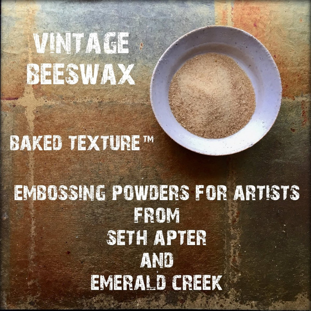 Seth Apter Baked Texture Vintage Beeswax
