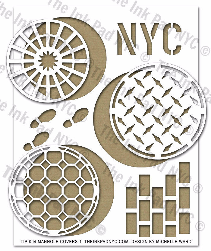 Manhole Covers II - The Ink Pad