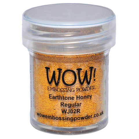 WOW! Earthtone Honey Regular Embossing Powder