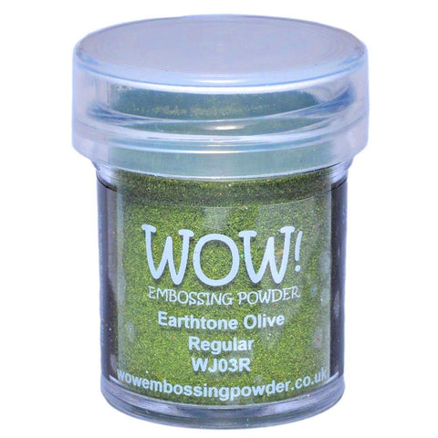 WOW! Earthtone Olive Regular Embossing Powder