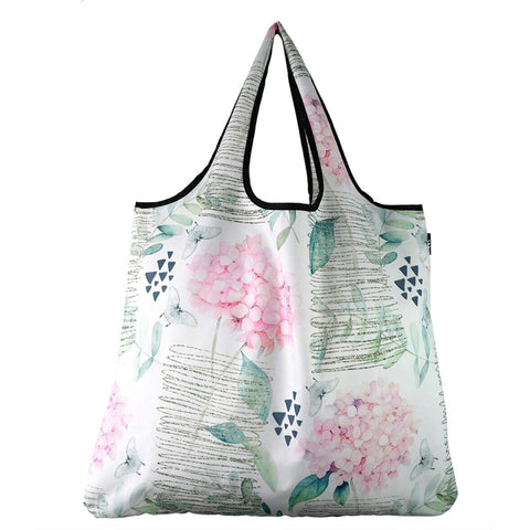 YAY Reusable Bag - Jumbo, Pink Hydrangea