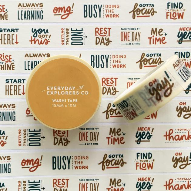Everyday Explorers Co You Got This - Washi Tape