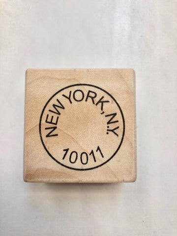 Michelle Ward NY Postmark Stamp