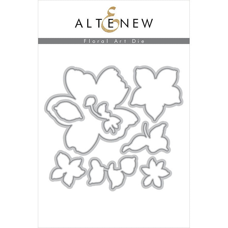 Altenew Floral Art Die Set
