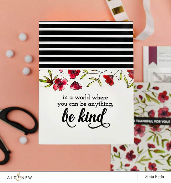 Altenew Clear Stamps - Be Kind