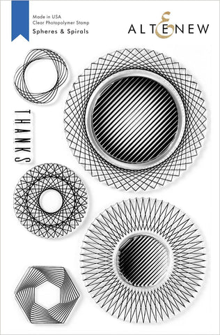 Altenew Spheres and Spirals Stamp Set