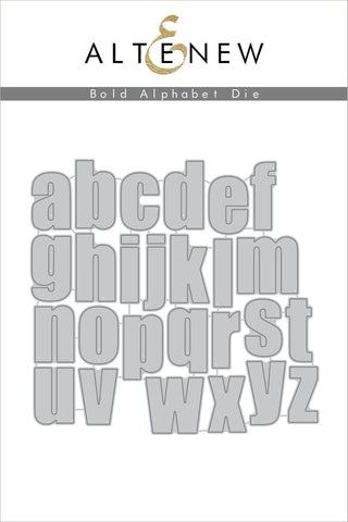 Altenew Bold Alphabet Die Set