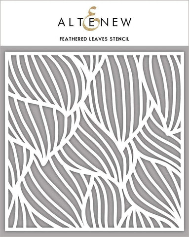 Altenew Stencils - Feathered Leaves 6x6