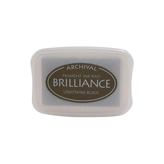 Brilliance Pigment Ink Pad - Lightening Black